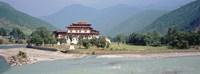 """Punakha Dzong, Punakha, Bhutan by Panoramic Images - 27"""" x 9"""""""