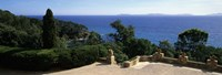 """Observation Point At The Sea Shore, Provence, France by Panoramic Images - 27"""" x 9"""""""