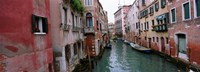 "Buildings on both sides of a canal, Grand Canal, Venice, Italy by Panoramic Images - 27"" x 10"""
