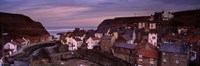 """Staithes, North Yorkshire, England, United Kingdom by Panoramic Images - 27"""" x 9"""", FulcrumGallery.com brand"""