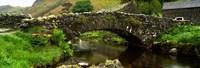 "Stone Bridge Over A Canal, Watendlath Bridge, Lake District, Cumbria, England, United Kingdom by Panoramic Images - 27"" x 9"" - $28.99"