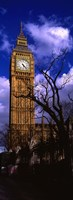 """Low Angle View Of Big Ben, London, England, United Kingdom by Panoramic Images - 9"""" x 27"""""""