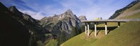Mountain Pass Bridge Austria