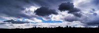 Clouds over a landscape, Iceland Fine Art Print