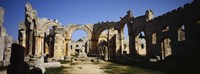 """St. Simeon The Stylite Abbey, Aleppo, Syria by Panoramic Images - 27"""" x 9"""", FulcrumGallery.com brand"""