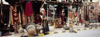 """Group of objects in a market, Palmyra, Syria by Panoramic Images - 27"""" x 9"""""""