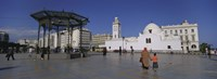 "Jamaa-El-Jedid, Algiers, Algeria by Panoramic Images - 27"" x 9"", FulcrumGallery.com brand"