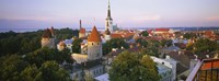 """High angle view of a city, Tallinn, Estonia by Panoramic Images - 27"""" x 9"""" - $28.99"""