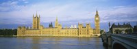 """Government building at the waterfront, Thames River, Houses Of Parliament, London, England by Panoramic Images - 27"""" x 9"""" - $28.99"""