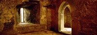 "Interiors of a castle, Blarney Castle, Blarney, County Cork, Republic Of Ireland by Panoramic Images - 27"" x 10"""