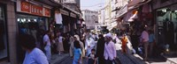 """Group of people in a market, Grand Bazaar, Istanbul, Turkey by Panoramic Images - 27"""" x 9"""""""