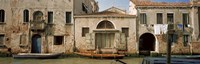 "Boats in a canal, Grand Canal, Rio Della Pieta, Venice, Italy by Panoramic Images - 27"" x 9"""