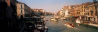 "Buildings along a canal, Grand Canal, Venice, Italy by Panoramic Images - 27"" x 9"""
