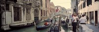 "Buildings along a canal, Grand Canal, Rio Di Palazzo, Venice, Italy by Panoramic Images - 27"" x 9"""