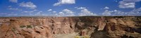 """Rock formations on a landscape, South Rim, Canyon De Chelly, Arizona, USA by Panoramic Images - 27"""" x 9"""""""