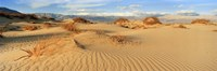"Sand dunes in a national park, Mesquite Flat Dunes, Death Valley National Park, California, USA by Panoramic Images - 27"" x 9"""
