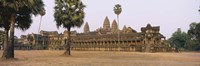 "Angkor Wat, Siem Reap, Cambodia by Panoramic Images - 27"" x 9"""