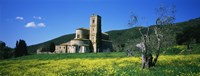 "San Antimo Monastery, Tuscany, Italy by Panoramic Images - 27"" x 9"""