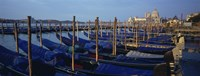 "Gondolas, Venice, Italy by Panoramic Images - 27"" x 9"""
