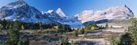 Landscape of Mt Assiniboine Provincial Park