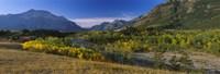 "Waterton Lakes National Park, Alberta, Canada by Panoramic Images - 27"" x 9"""