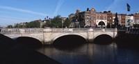 O'Connell Bridge in Republic of Ireland Fine Art Print