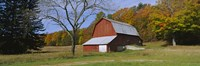 """Barn in Sleeping Bear Dunes National Lakeshore by Panoramic Images - 27"""" x 9"""", FulcrumGallery.com brand"""