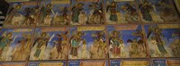 """Walls of a Monastery, Rila Monastery, Bulgaria by Panoramic Images - 27"""" x 9"""""""