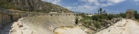 """High angle view of the old ruins of an amphitheater, Myra, Lycia, Antalya Provence, Turkey by Panoramic Images - 27"""" x 9"""""""