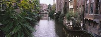 Buildings Along a Canal Ghent Belgium