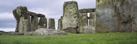 """Rock formations of Stonehenge, Wiltshire, England by Panoramic Images - 27"""" x 9"""" - $28.99"""