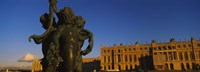 "Statues in front of a castle, Chateau de Versailles, Versailles, Yvelines, France by Panoramic Images - 27"" x 9"""