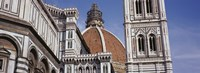Low angle view of a cathedral, Duomo Santa Maria Del Fiore, Florence, Tuscany, Italy Fine Art Print