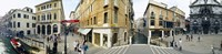 """Buildings in a city, Venice, Veneto, Italy by Panoramic Images - 27"""" x 9"""""""