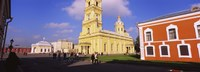 """Low angle view of a cathedral, Peter and Paul Cathedral, Peter and Paul Fortress, St. Petersburg, Russia by Panoramic Images - 27"""" x 9"""""""
