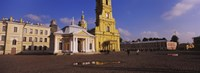 """Facade of a cathedral, Peter and Paul Cathedral, Peter and Paul Fortress, St. Petersburg, Russia by Panoramic Images - 27"""" x 9"""""""