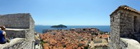 "Island in the sea, Adriatic Sea, Lokrum Island, Dubrovnik, Croatia by Panoramic Images - 27"" x 9"""
