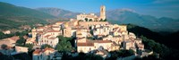 """High angle view of a town, Goriano Sicoli, L'Aquila Province, Abruzzo, Italy by Panoramic Images - 27"""" x 9"""""""