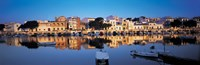 """Buildings at the waterfront, Porto, Majorca, Spain by Panoramic Images - 27"""" x 9"""""""