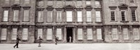 """Men carrying boxes, moving to a new building, Dyrham Park, Dyhram, Gloucestershire, England by Panoramic Images - 27"""" x 9"""""""
