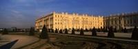 "Formal garden in front of a castle, Chateau de Versailles, Versailles, Paris, Ile-de-France, France by Panoramic Images - 27"" x 9"", FulcrumGallery.com brand"