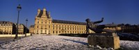 """Statue in front of a palace, Tuileries Palace, Paris, Ile-de-France, France by Panoramic Images - 27"""" x 9"""""""