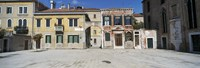 """Houses in a town, Campo dei Mori, Venice, Italy by Panoramic Images - 27"""" x 9"""""""