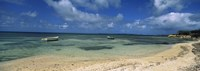 "Boats in the sea, North coast of Antigua, Antigua and Barbuda by Panoramic Images - 27"" x 9"""