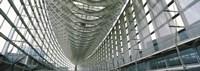 "Interiors of a forum, Tokyo International Forum, Marunouchi, Chiyoda, Ginza, Tokyo Prefecture, Honshu, Japan by Panoramic Images - 27"" x 9"""