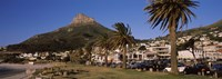 """City at the waterfront, Lion's Head, Camps Bay, Cape Town, Western Cape Province, South Africa by Panoramic Images - 27"""" x 9"""""""