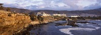 "Old whaling station on the coast, Hermanus, Western Cape Province, Republic of South Africa by Panoramic Images - 27"" x 9"""