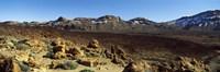 Dormant volcano in a national park, Pico de Teide, Tenerife, Canary Islands, Spain Fine Art Print