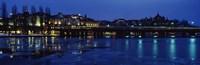 Waterfront at Night Stockholm Sweden