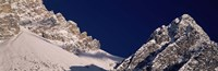 """Mountain covered with snow, Dolomites, Cadore, Province of Belluno, Veneto, Italy by Panoramic Images - 27"""" x 9"""""""